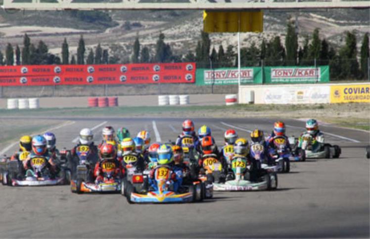 Circuito Zuera : Campeonato de espaÑa karting circuito